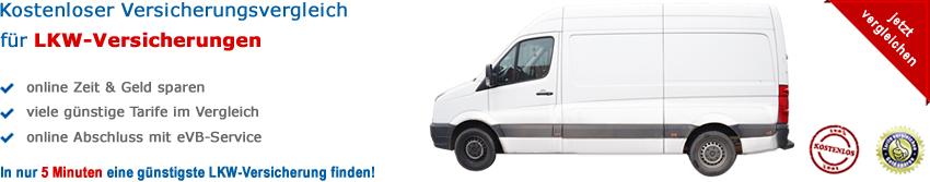 Lieferwagen-Versicherungen Vergleich